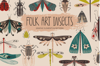 Folk Art Insects