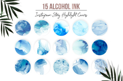 Alcohol Ink Instagram Highlights