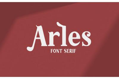 Arles | Serif Font