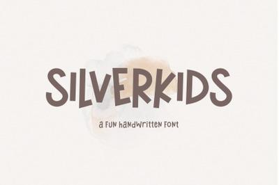 Silverkids - A Fun Handwritten Font