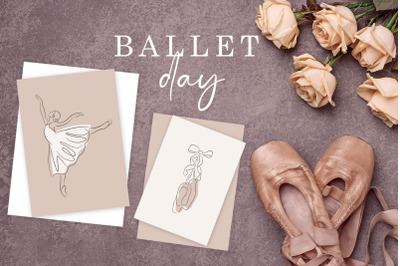 Ballet Graphic Illustrations.