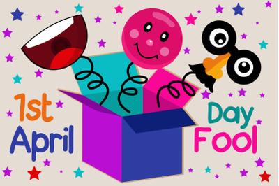 April Fools Day Event Illustration
