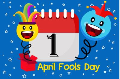 1st April Fools Day Illustration