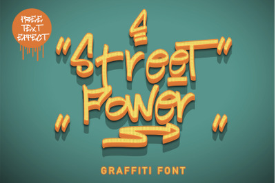 Street Power | Graffiti Font