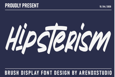 Hipsterism | Display Font