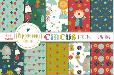 Circus fun paper