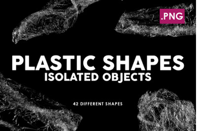 Isolated Plastic Shapes