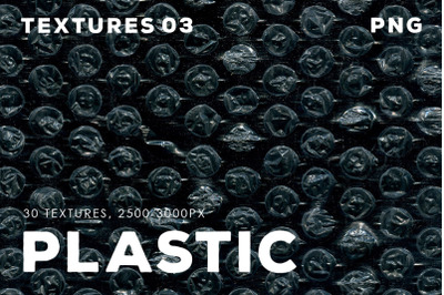 Isolated Plastic Textures 3