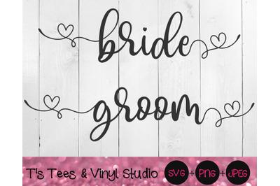 Bride Svg, Groom Svg, Married Svg, Marriage Svg, Couple Svg, Wedding S