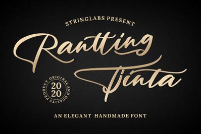 Rantting Tjinta - Stylish Script Font