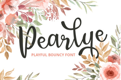 Pearlye - Playful Bouncy Font