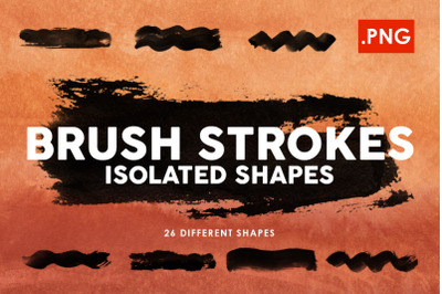 PNG Ink Brush Strokes
