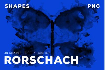 PNG Rorschah Ink Shapes Vol.2