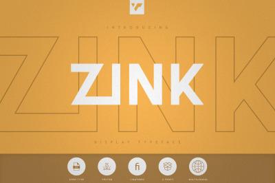 Zink - Display Typeface