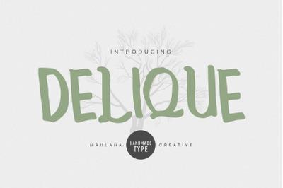 Delique Handmade Type