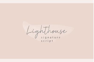 Lighthouse | Signature Script