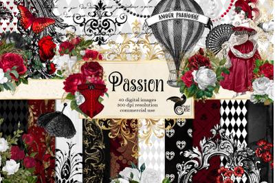 Passion Digital Scrapbook Kit