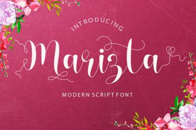 Marizta Script