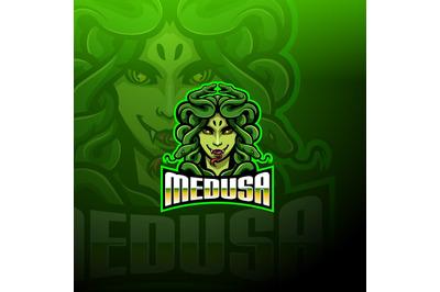 Medusaesport mascot logo