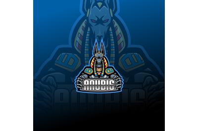 Anubisesport mascot logo