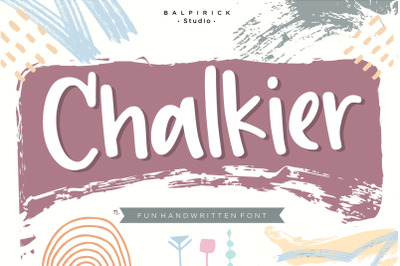 Chalkier Fun Handwritten Font