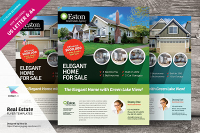Real Estate Flyer Templates Vol.01