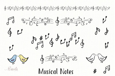 Musical Notes Clipart
