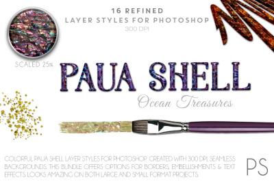 Paua Shell Ocean Treasures