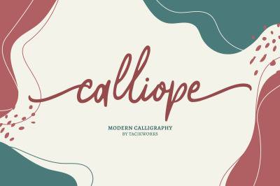 Calliope Modern Calligraphy
