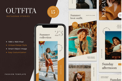 Outfita - Fashion Instagram Stories Template