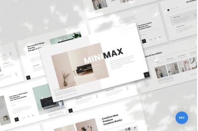 Minimax - Minimal & Creative Keynote Template