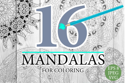 Mandalas for coloring 15