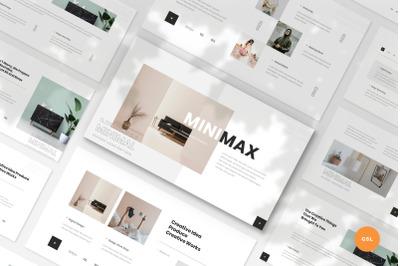 Minimax - Minimal & Creative Google Slides Template