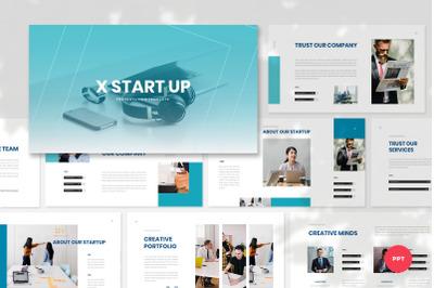 XStartUp - Startup PowerPoint Template