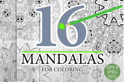 Mandalas for coloring 16