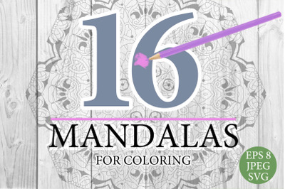 Mandalas for coloring 17