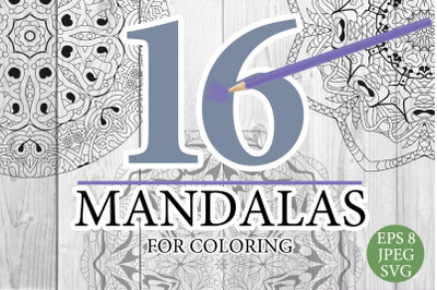 Mandalas for coloring 18
