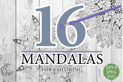Mandalas for coloring 19