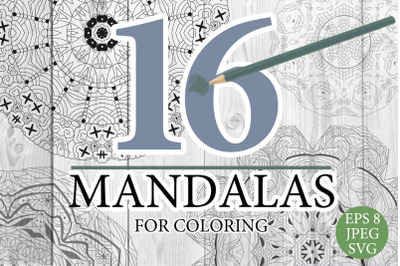 Mandalas for coloring 20
