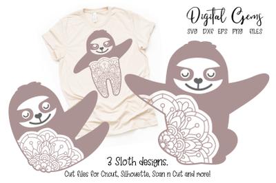 Sloth designs