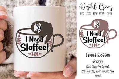 Sloffee, coffee design