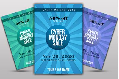 Cyber MondayFlyer