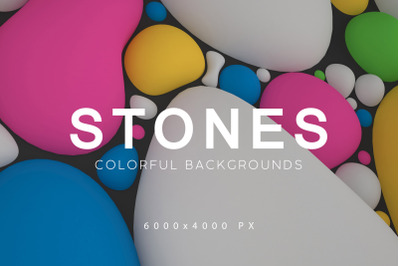 Colorful Stones Backgrounds