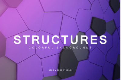 Colorful Structures Backgrounds