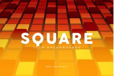 Square Gradient Backgrounds