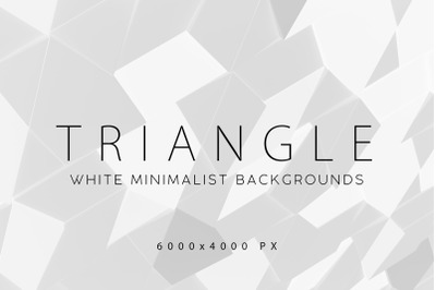 White Triangle Backgrounds 2