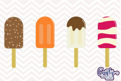 Popsicle SVG File Popsicles With Sprinkles Sublimation