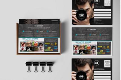 Freelance Photographer Promotion PostCard