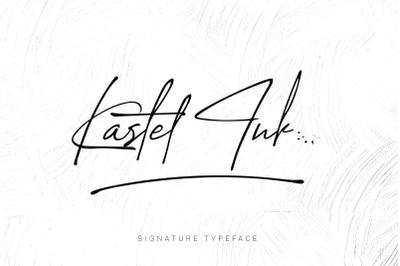 Katel Ink Script Font