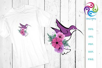 Floral Bird Illustration